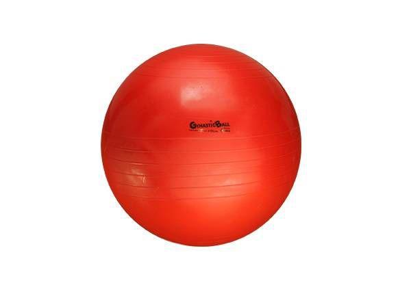 Bola Suíça para Exercícios e Pilates Gynastic Ball 55 cm Vermelha Ref. BL.01.55 - Carci