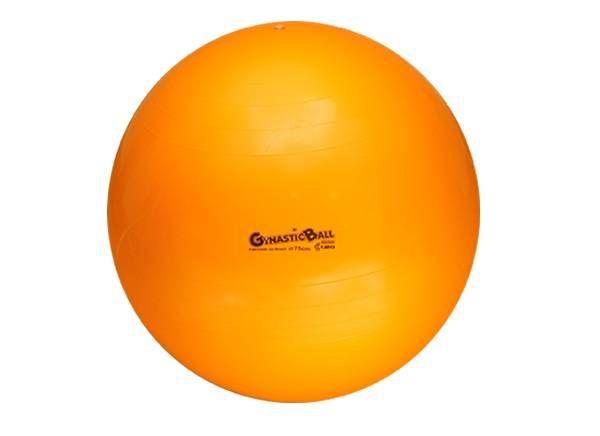 Bola Suíça para Exercícios e Pilates Gynastic Ball 75 cm Laranja Ref. BL.01.75 - Carci
