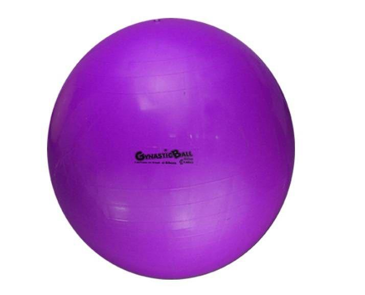Bola Suíça para Exercícios e Pilates Gynastic Ball 95 cm Roxo Ref.BL.01.95 - Carci