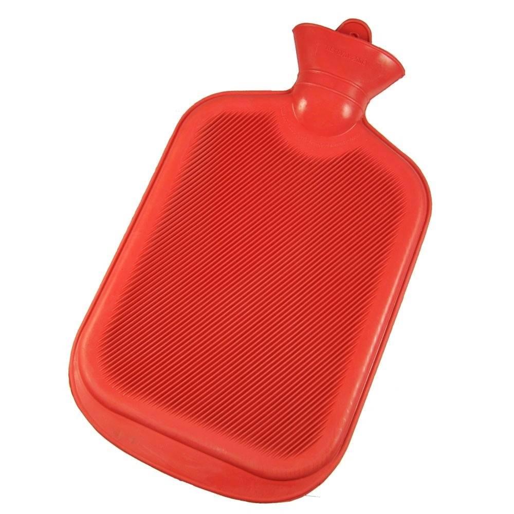 Bolsa De Água Quente 1 Litro Vermelha - Bioland