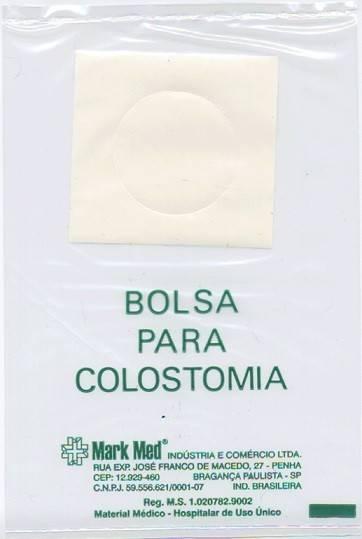 Bolsa de Colostomia 30mm Descartável Pct. com 10 unidades - Medsonda