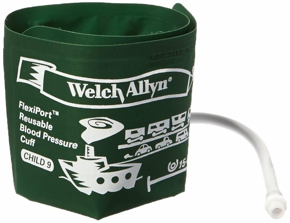 Braçadeira Adolescente 1 Tubo Velcro 15 A 21cm de Circunferência Child 9 - Welch Allyn Tycos