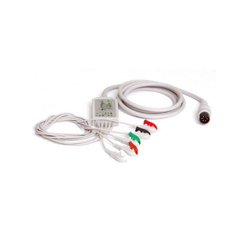 Cabo Paciente 5 Vias Para Eletrocardiógrafo EX-01 - Emai