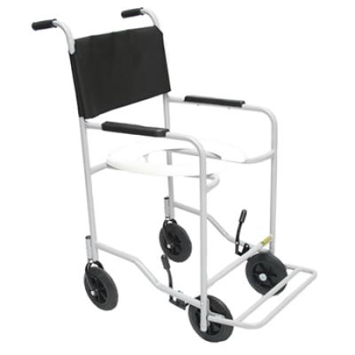 Cadeira de Banho com Braços Fixos e Pés Escamoteáveis 202 - CDS