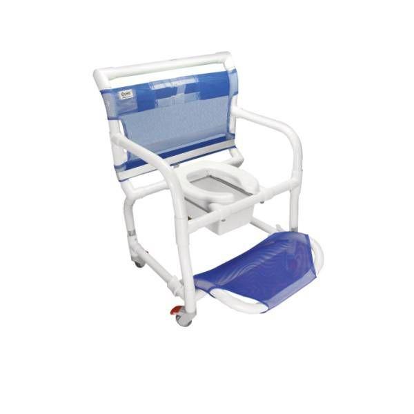 Cadeira de Banho e Higiênica em PVC para Obeso Carcilife 300CLO - Carci