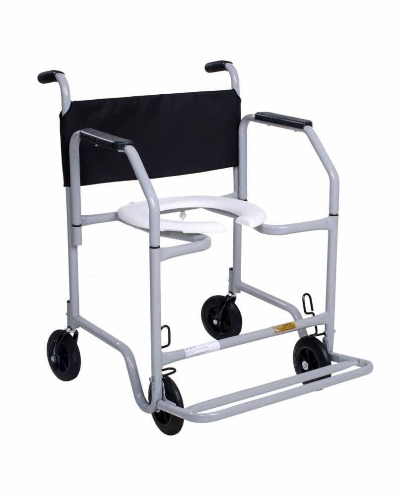 Cadeira De Banho Max Obeso Braços Removíveis e Pés Escamoteáveis Até 120 Kg. Banho Max - CDS