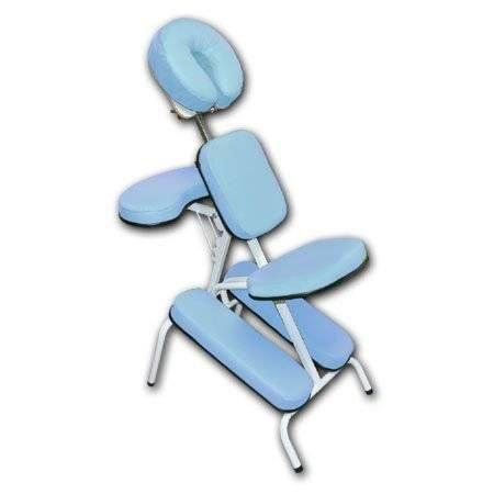 Cadeira de Massagem Shiatsu Quick Massage Estofamento Azul MT 3060 - Metalic