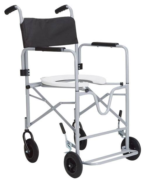 Cadeira de Rodas Banho Dobrável Epoxi - CDS
