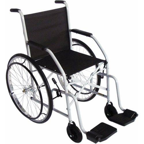 Cadeira De Rodas Dobrável Pneu Maciço Cds101