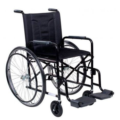 """Cadeira De Rodas Dobrável Pneus 24"""" Infláveis M2000- I (PÉS E BRAÇOS REMOVIVEIS)  Cds"""