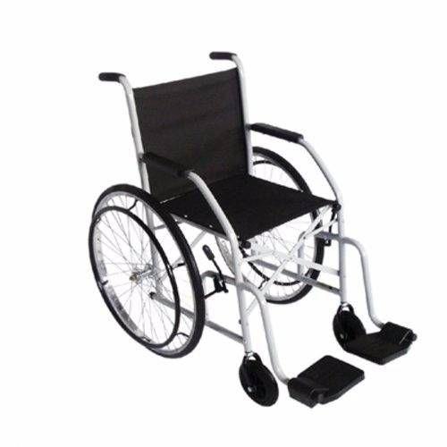 Cadeira de Rodas Pneu Inflável Modelo 102 (Até 85 KG) - CDs