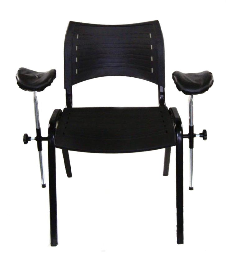 Cadeira Para Coleta De Sangue Assento e Encosto em Polipropileno - SLT