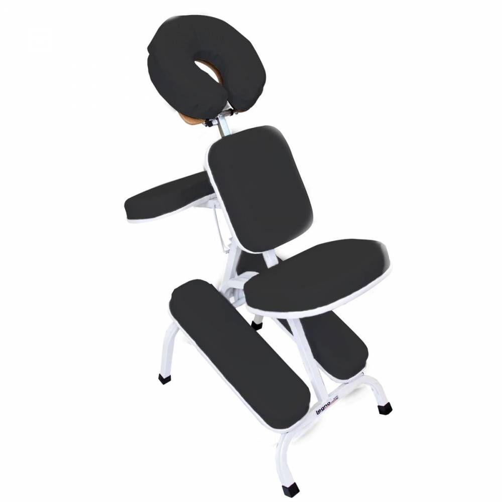 Cadeira Para Shiatsu Estofamento Preto Quick Massage