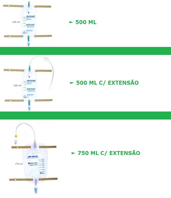 Coletor de Urina Perna Com Extensão Estéril - Uro-Taylor
