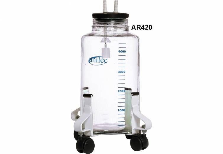 Conjunto de Aspiração 5 lt com Rodizios AR420 - Unitec