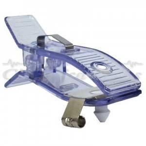 Eletrodo de Membros Cardiológico Reutilizável Infantil Cardio Clip Transparente C/ 4 Unid. - FBras