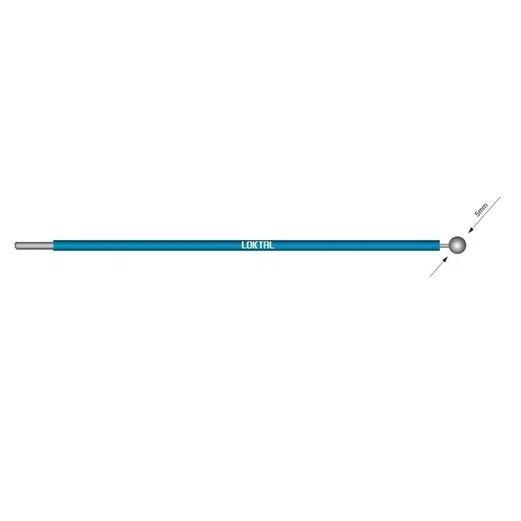 Eletrodo Cirúrgico Bola Reto Ø 5mm Ginecológico ACEL0025 Wavetronic