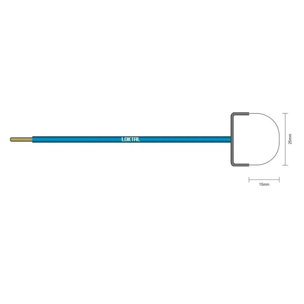 Eletrodo Cirúrgico Ginecológico Alça Redonda - 25mm x 15mm - ACEL0035 Wavetronic