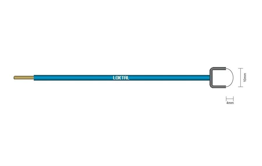Eletrodo Cirúrgico Alça 10mm x 10mm ACEL0030 Wavetronic