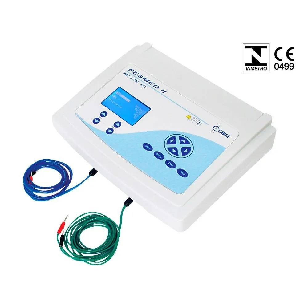 Eletroestimulador Tens + Fes 2 Canais Fesmed II Ref. 4052 - Carci