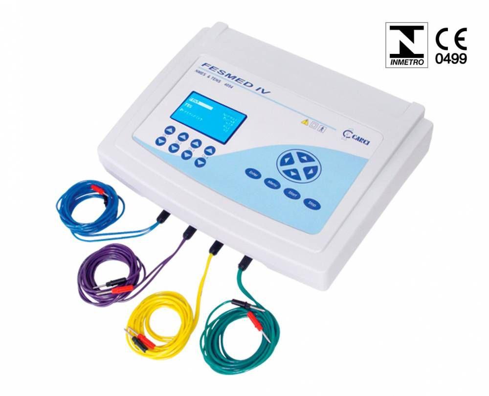 Eletroestimulador Tens + Fes 4 Canais Fesmed IV Ref. 4054 - Carci