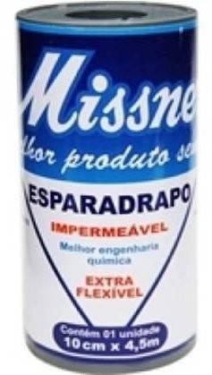 Esparadrapo Impermeável 10 Cm X 4.5 MT - AD PELE / Missner