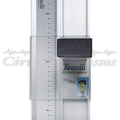 Estadiômetro Pediátrico de Parede E120P - Tonelli