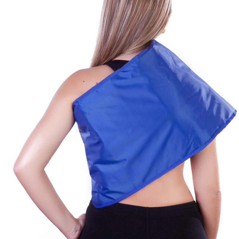 Faixa Térmica Abdominal Nylon Azul 10 Temperaturas (Potenciômetro) 1,30 x 0,30m 220v. - Conforto e Terapia