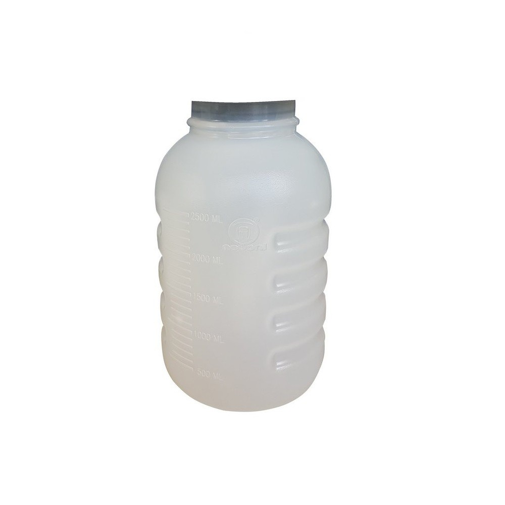 Frasco de Aspiração em PVC S/ Tampa P/ Aspirador e Lipoaspirador 3,25L - Nevoni