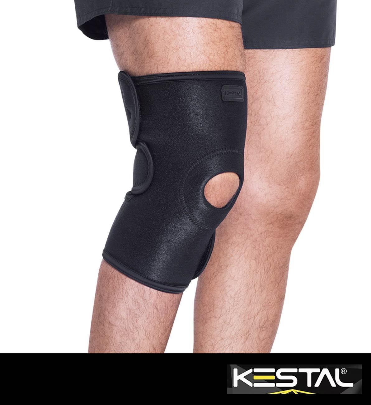Joelheira Com Reforço Patelar Ajustável (KSN003) - Kestal