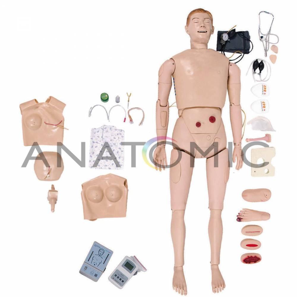 Manequim para Treino em Enfermagem e RCP TZJ526A - Anatomic