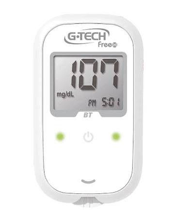 Medidor de Glicose (Glicosímetro) Free Smart C/ 60 Tiras e 10 Lancetas - G-Tech
