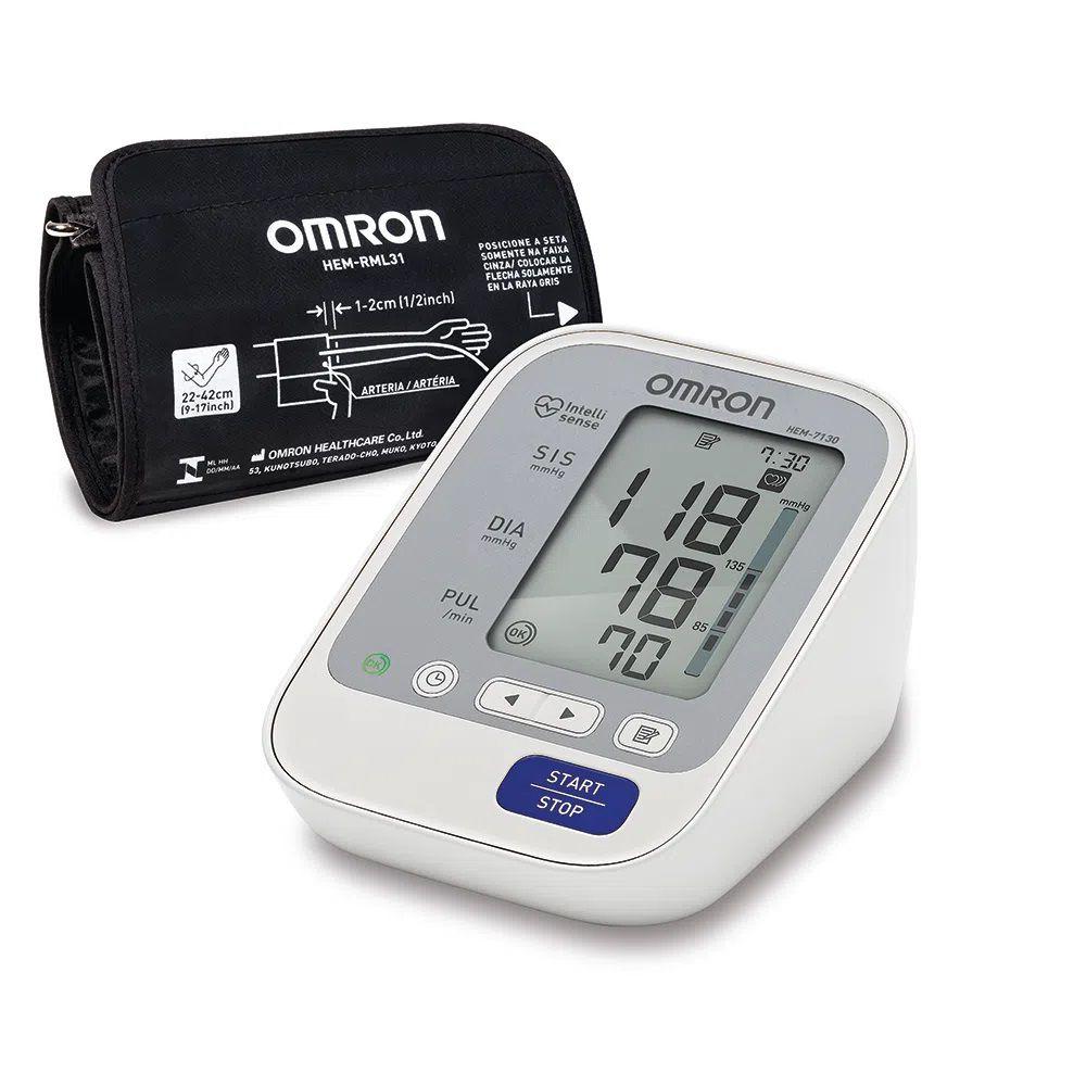 Monitor de Pressão Arterial Automático HEM-7130 - Omron