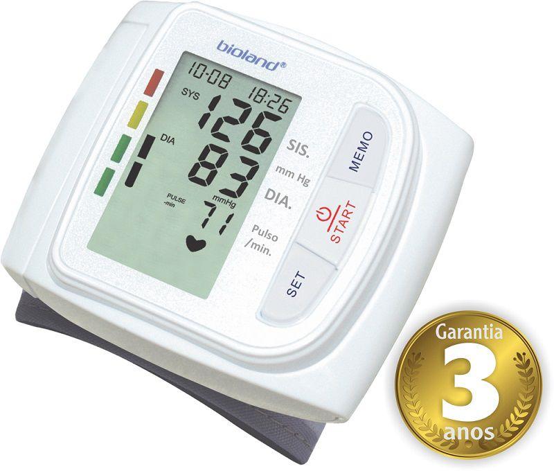 Monitor de Pressão Digital Automático de Pulso 3005 - Bioland