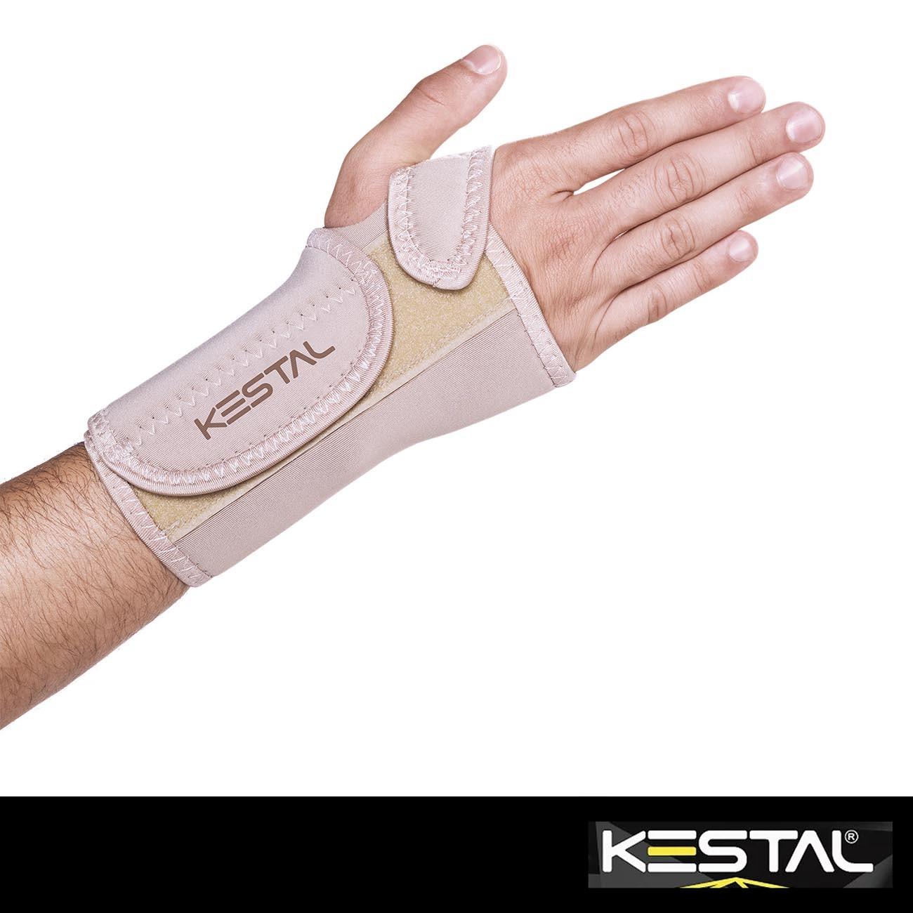 Munhequeira Com Tala de Punho Bilateral Ajustável (KSN011) - Kestal
