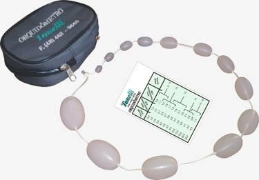 Orquidômetro para análise puberal (saco escrotal) - Tonelli