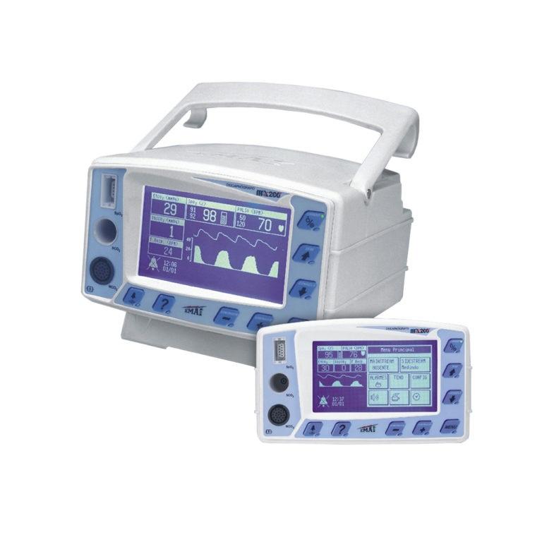Oxicapnógrafo Sidestream CO² + SpO² MX200-B - Emai