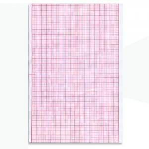 Papel Ecg Cardiopágina Formato A4 CGD-RE 7157 Para Aparelho Dixtal C/1000 F