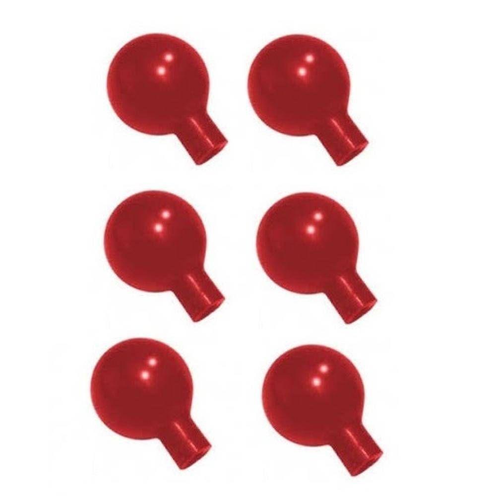 Pera Para ECG Infantil Silicone Com 6 Unidades