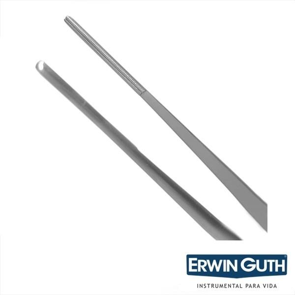 Pinça de Bakey Anatômica Atrauma Reta 2mm 30cm Cardiovascular - Erwin Guth