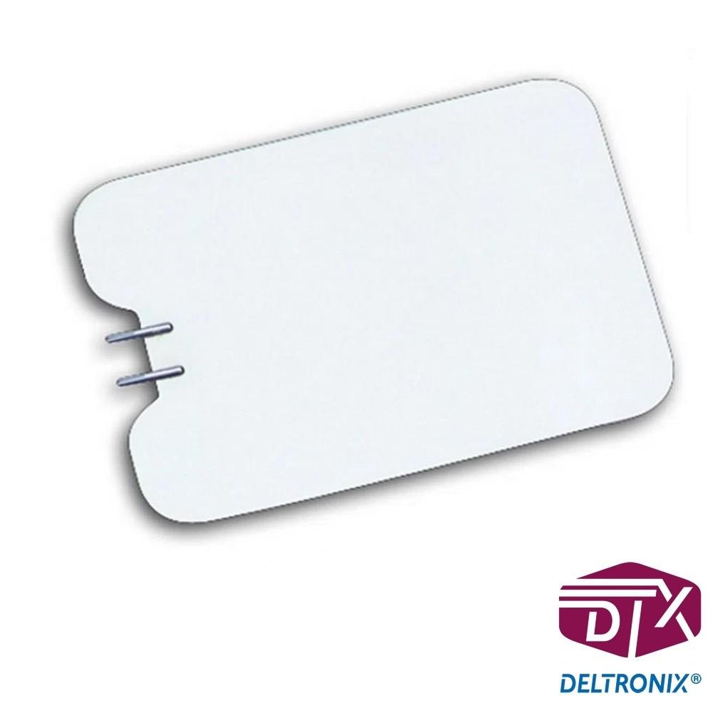 Placa Neutra Inox Grande Adulto 200 x 150mm PN01 - Deltronix