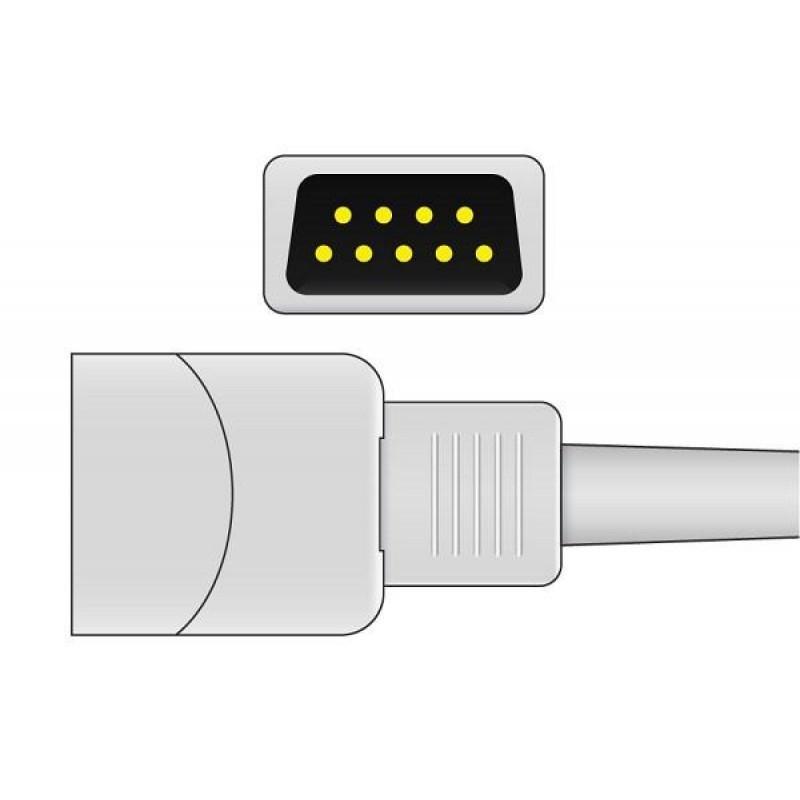 Pré-cabo extensor de Oximetria para monitores Mindray MEC1000, MEC1200, MEC2000, PM7000, PM8000, PM9000, VS800