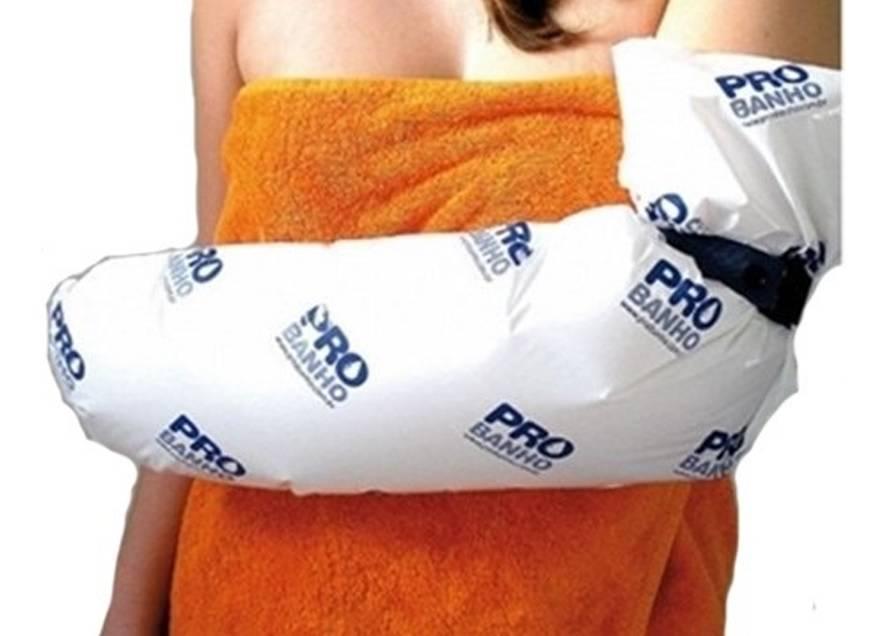 Protetor de Gesso Para Banho Braço Adulto - ProBanho