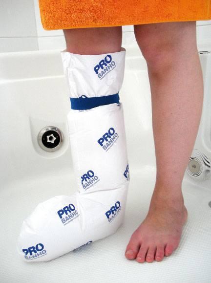 Protetor de Gesso Para Banho Perna Inteira Adulto - ProBanho