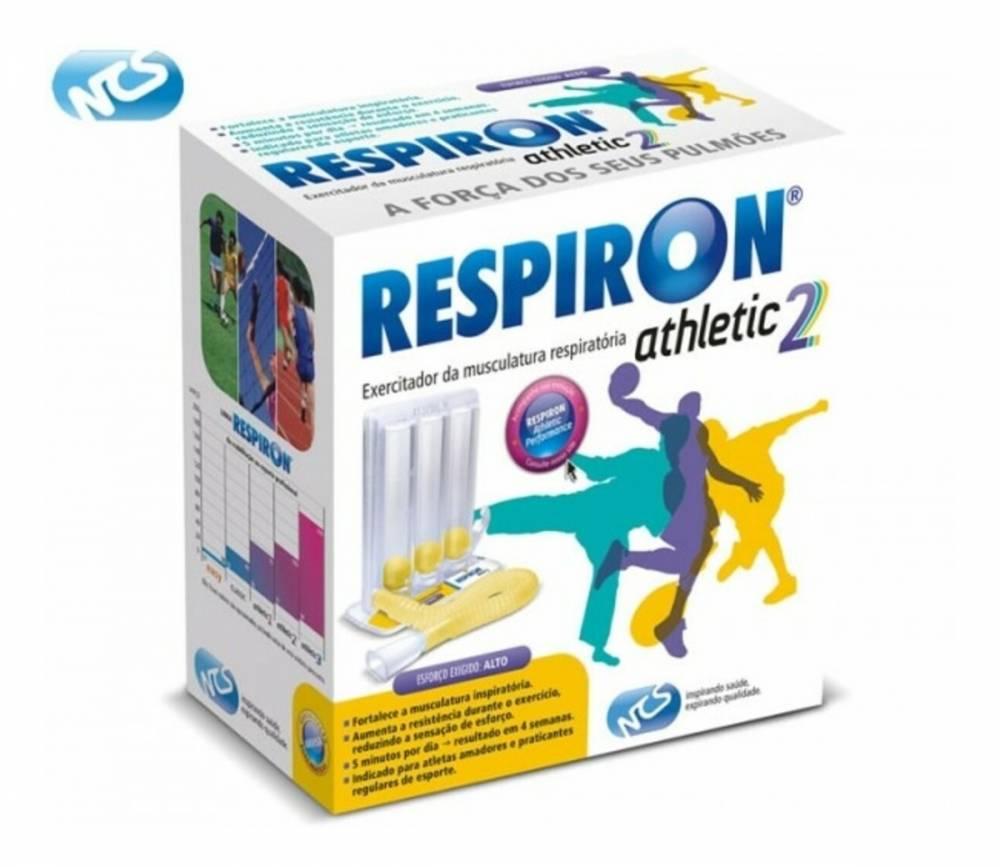 Respiron Athletic 2 Para Exercício Respiratórios Alto Esforço Exigido - NCS
