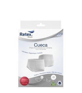 Roupa Intima Masculina para Incontinência Urinária Tam. P - Retex