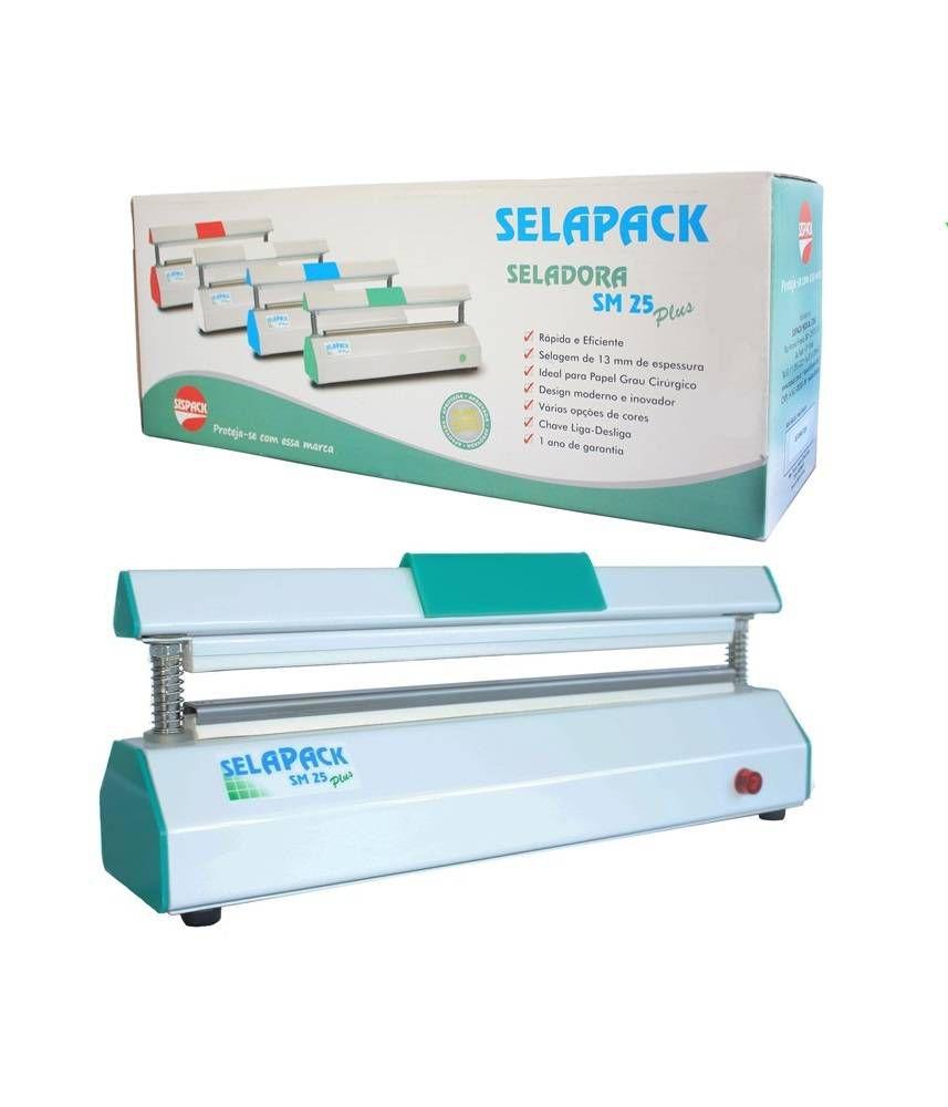 Seladora Selapack SM25 Plus 25 cm - Sispack