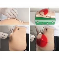 Simulador Para Treino Injeção Intramuscular C/ Cinto TGD-4009-S Anatomic