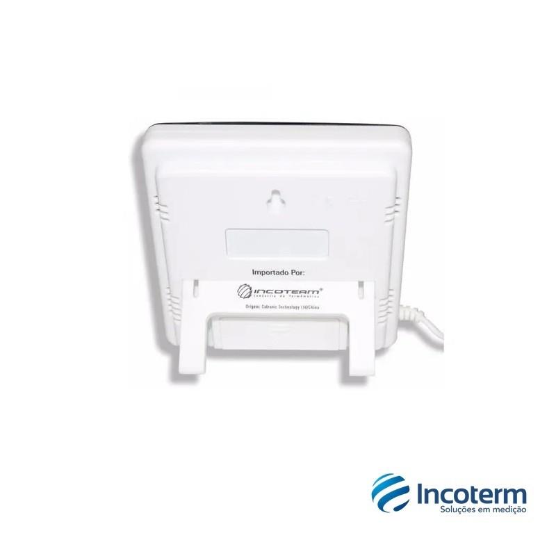 Termo-Higrômetro Digital Temperatura e Umidade Interna e Externa (7664.01.0.00) - Incoterm