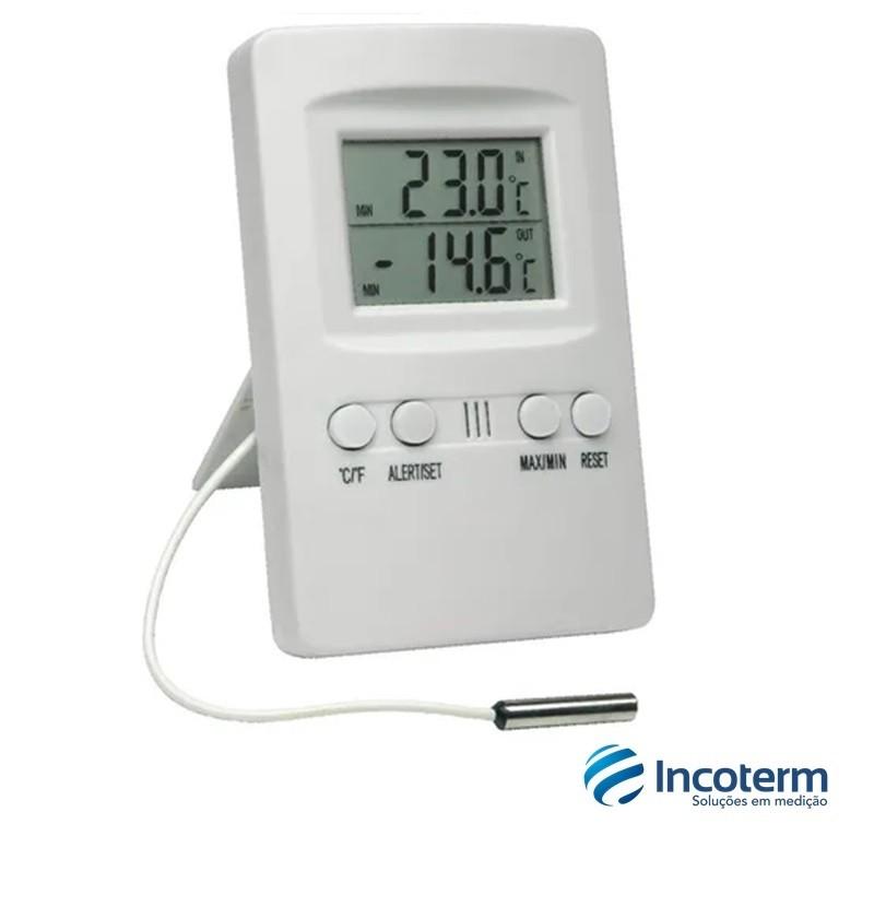 Termômetro Digital Máxima e Mínima (7427.02.00) - Incoterm